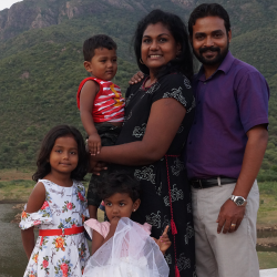 Jacob and Sharon Selvaraj