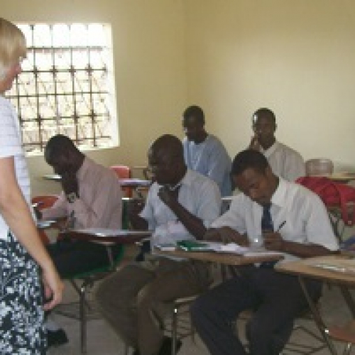 Adult Literacy Training – Sierra Leone